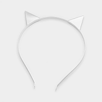 Metal Cat Ear Headband