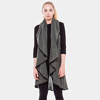 Double Layered Cardigan / Vest