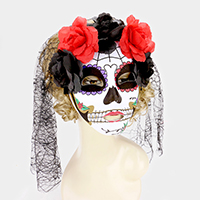 Halloween Day of The Dead Masquerade Mask