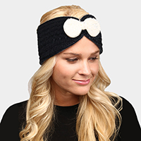 Soft Knit Bow Headband