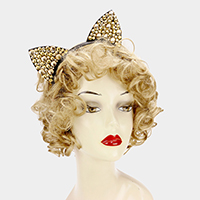 Bling Stone Cat Ear Headband