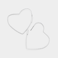 Multi Heart Hoop Earrings