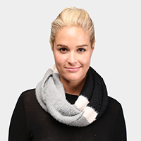 Multi Colored Soft Infinity Scarf