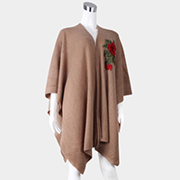Flower Patch Poncho
