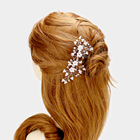 Pear Flower Cluster Hair Comb