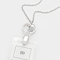 Nurse Charm ID Holder