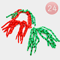 24 PCS Christmas Celebration Hair Clips