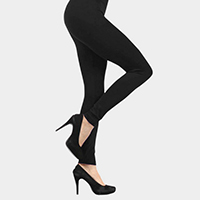 Solid High Elastic Leggings