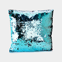 Reversible Sequin Mermaid Cushion Pillow