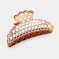 Pave Crystal Hair Claw Clip