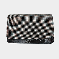 Crystal Mesh Evening Clutch Bag