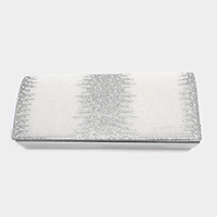 Crystal Rhinestone Pearl Evening Clutch Bag