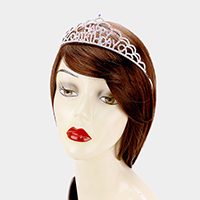 Crystal Rhinestone Happy Birthday Party Tiara