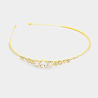 Pave Crystal Trimmed Headband