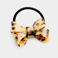 Celluloid Tortoise Bow Hair Band