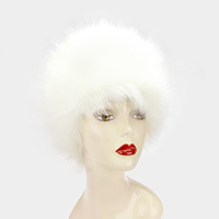 Faux Fur Russian Style Winter Hat