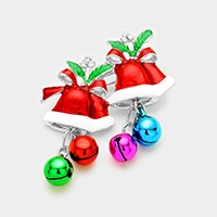 Enamel Christmas Jingle Bell Pin Brooch