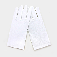 Cotton Wedding Gloves
