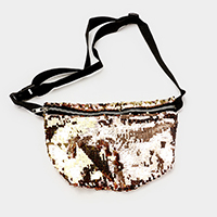 Reversible Sequin Mermaid Fanny Pack