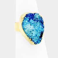 Genuine Druzy Ring