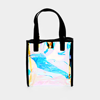 Transparent Hologram Tote Bag
