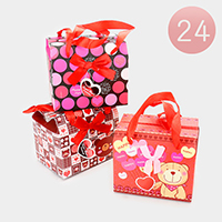 24PCS - Bear Print Gift Boxes