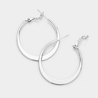 14K Gold Filled 3cm Metal Hypoallergenic Hoop Earrings