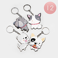 12PCS - Puppy Key Chains