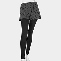 Star Short Ankle Heavy Leggings
