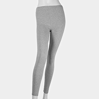 Cotton Stretch Ankle Heavy Leggings
