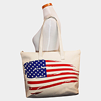 American Flag Eco Tote Bag
