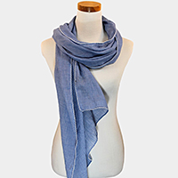 Texturized Solid Scarf