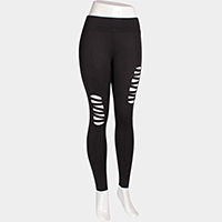 Comfy Cutout Leggings