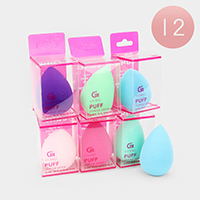 12PCS - Teardrop Makeup Sponge Puffs