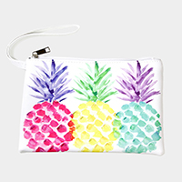 Colorful Pineapple Pouch Bag
