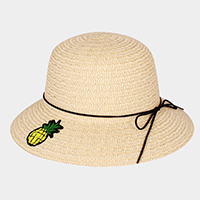 Pineapple Patch Paper Straw Sun Hat