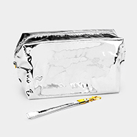 Glossy Cosmetic Pouch Bags