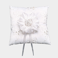 Floral Wedding Ring Pillow Box