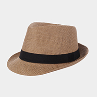 Basic Straw Fedora