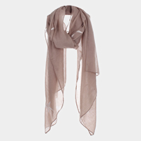 Starfish Sheer Mesh Oblong Scarf