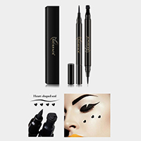 Liquid Eyeliner Pencil with Heart Shaped Seal Stamp