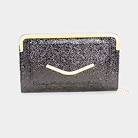 Sequin Wallet Clutch Bag