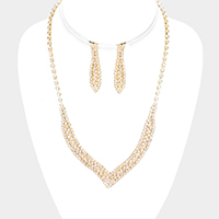 Cubic Zirconia Pave Necklace