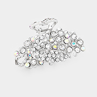 Bubble Cluster Pave Hair Claw Clip