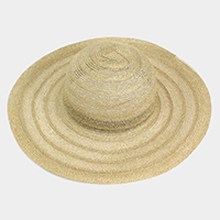 Straw Floppy Sun Hat