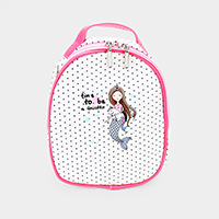 Mermaid Kids Mini Backpack Bag