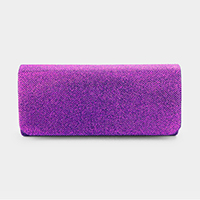 Solid Glittered Clutch Bag