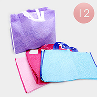 12PCS - Rectangle Pattern Gift Bags
