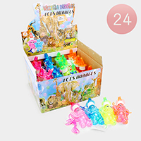 24PCS - Elephant Whistle Bubbles