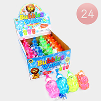 24PCS - Lion Whistle Bubbles